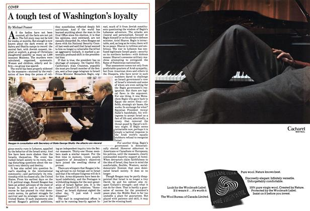 Article Preview: A tough test of Washington's loyalty, October 1982 | Maclean's