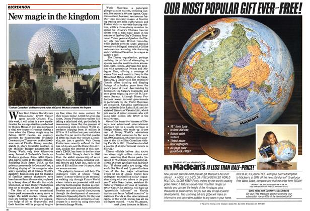 Article Preview: New magic in the kingdom, October 1982 | Maclean's