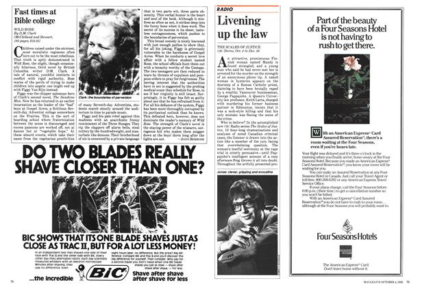 Article Preview: Livening up the law, October 1982 | Maclean's