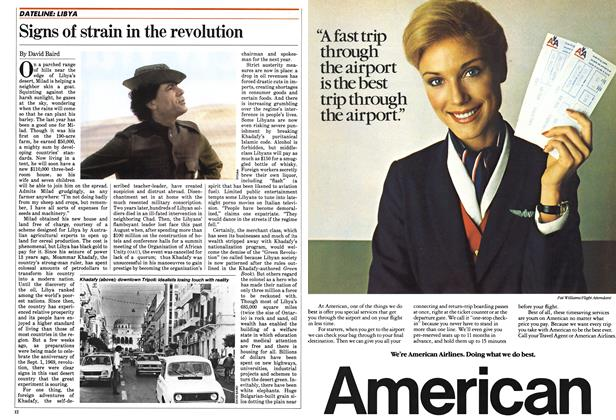 Article Preview: Signs of strain in the revolution, October 1982 | Maclean's