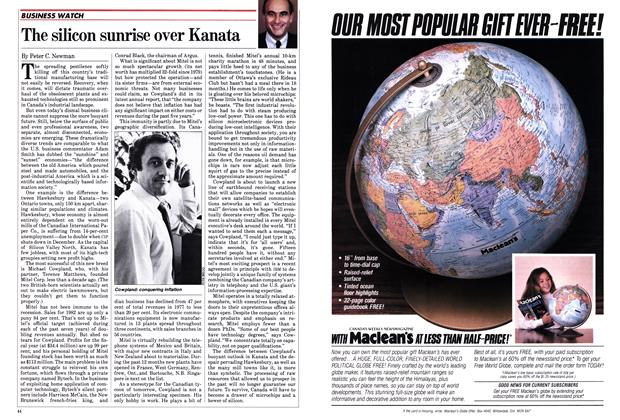 Article Preview: The silicon sunrise over Kanata, October 1982 | Maclean's