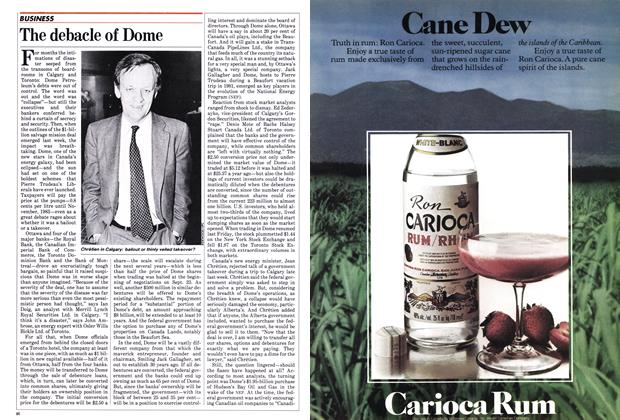 Article Preview: The debacle of Dome, October 1982 | Maclean's