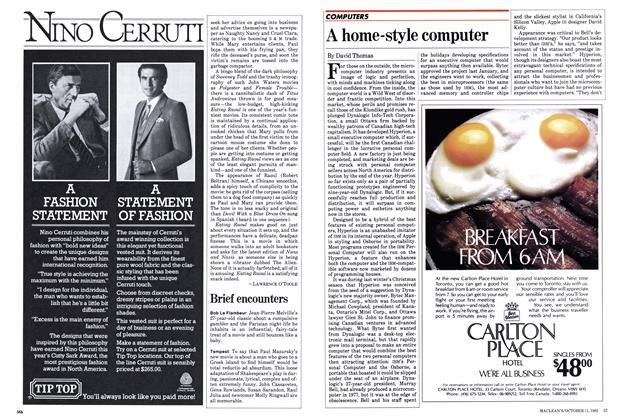 Article Preview: A home-style computer, October 1982 | Maclean's