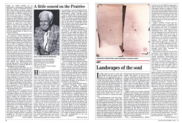 Article Preview: Landscapes of the soul, October 1982 | Maclean's