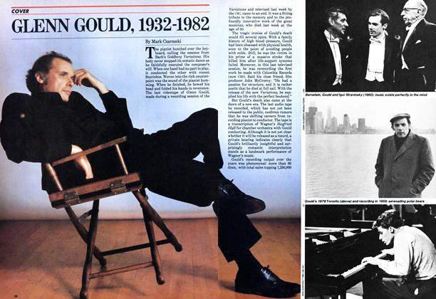 Article Preview: GLENN GOULD, 1932-1982, October 1982 | Maclean's