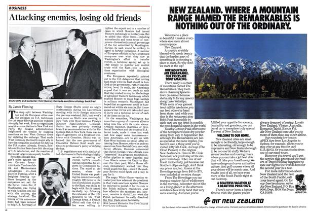 Article Preview: Attacking enemies, losing old friends, October 1982 | Maclean's