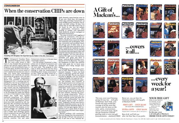 Article Preview: When the conservation CHIPS are down, October 1982 | Maclean's