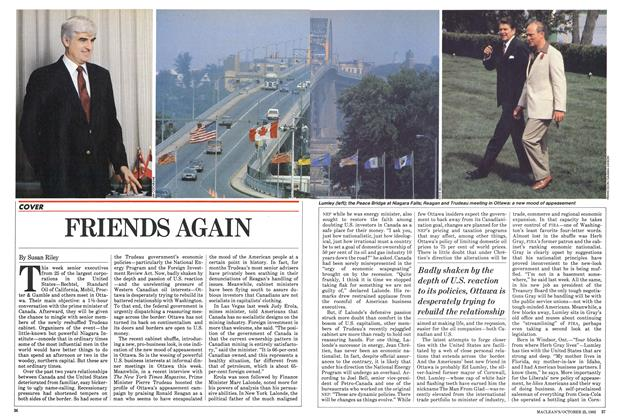 Article Preview: FRIENDS AGAIN, October 1982 | Maclean's