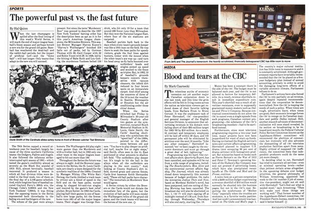 Article Preview: Blood and tears at the CBC, October 1982 | Maclean's