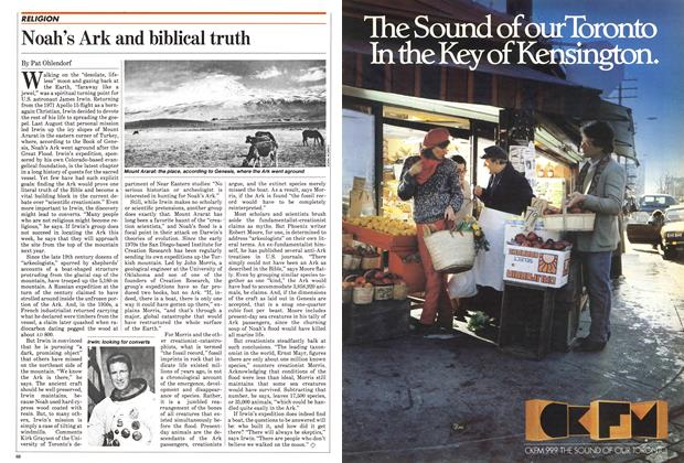 Article Preview: Noah's Ark and biblical truth, October 1982 | Maclean's