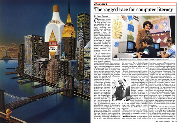 Article Preview: The ragged race for computer literacy, November 1982 | Maclean's