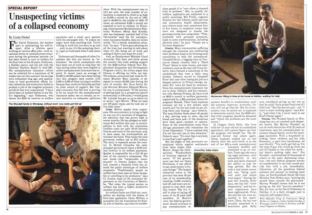 Article Preview: Unsuspecting victims of a collapsed economy, November 1982 | Maclean's