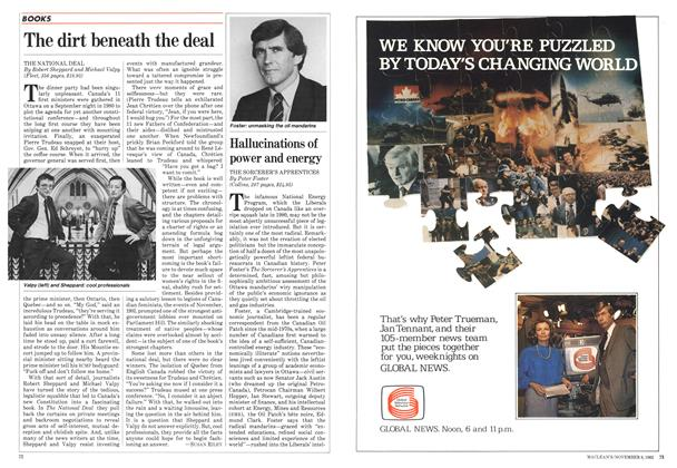 Article Preview: The dirt beneath the deal, November 1982 | Maclean's
