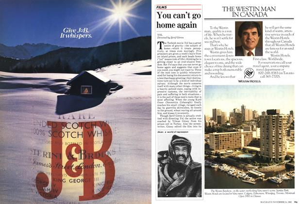 Article Preview: You can't go home again, November 1982 | Maclean's