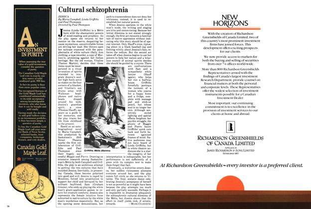 Article Preview: Cultural schizophrenia, November 1982 | Maclean's