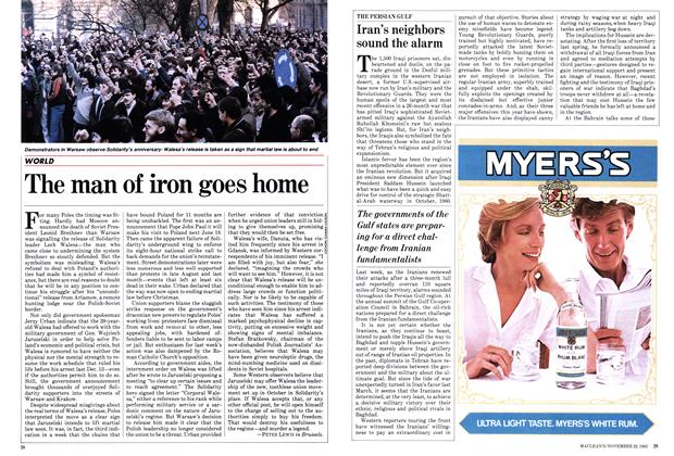 Article Preview: The man of iron goes home, November 1982 | Maclean's