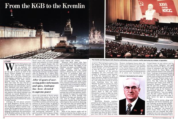 Article Preview: From the KGB to the Kremlin, November 1982 | Maclean's