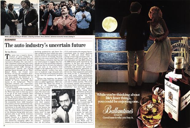 Article Preview: The auto industry's uncertain future, November 1982 | Maclean's