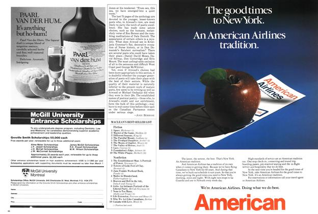 Article Preview: MACLEAN'S BEST-SELLER LIST, November 1982 | Maclean's