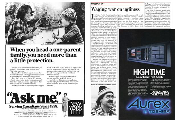 Article Preview: Waging war on ugliness, December 1982 | Maclean's