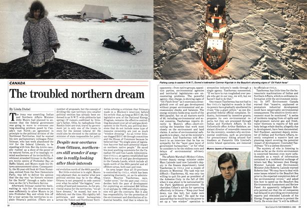 Article Preview: The troubled northern dream, December 1982 | Maclean's