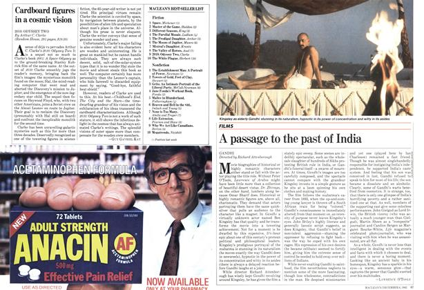 Article Preview: A passage to the past of India, December 1982   Maclean's