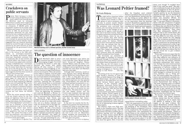 Article Preview: Was Leonard Peltier framed?, December 1982 | Maclean's