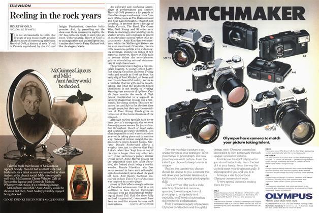 Article Preview: Reeling in the rock years, December 1982   Maclean's