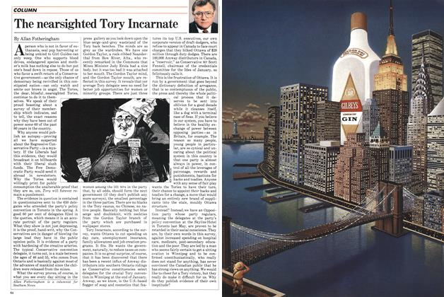 Article Preview: The nearsighted Tory Incarnate, December 1982 | Maclean's