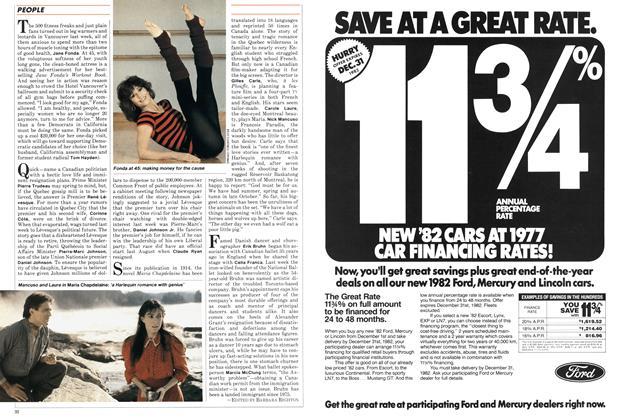 Article Preview: PEOPLE, December 1982   Maclean's