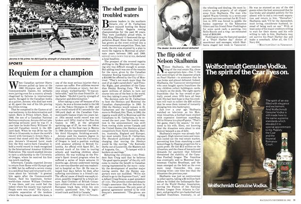 Article Preview: Requiem for a champion, December 1982 | Maclean's