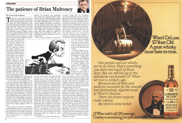 Article Preview: The patience of Brian Mulroney, December 1982 | Maclean's