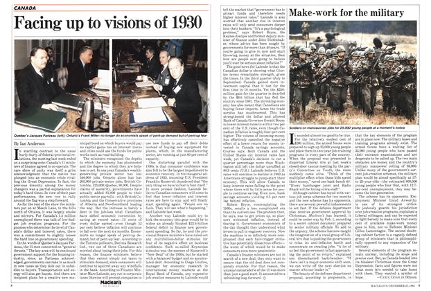 Article Preview: Make-work for the military, DECEMBER 27,1982 1982 | Maclean's