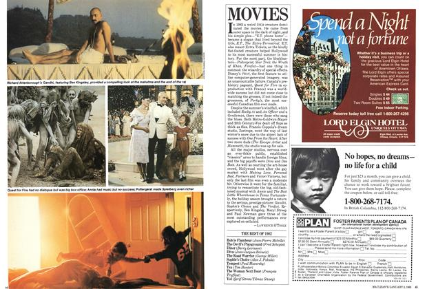 Article Preview: MOVIES, January 1983 | Maclean's