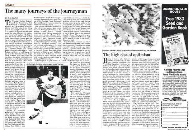 Article Preview: The many journeys of the journeyman, January 1983 | Maclean's