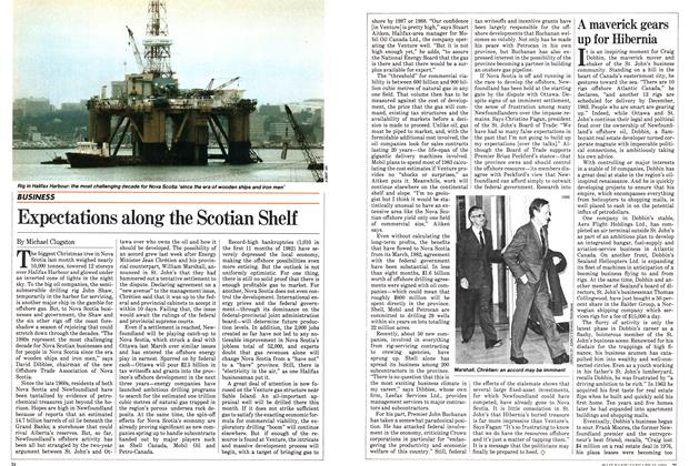 Article Preview: Expectations along the Scotian Shelf, January 1983 | Maclean's