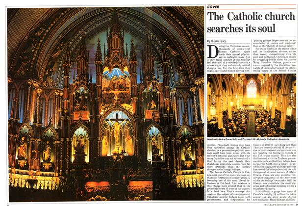 Article Preview: The Catholic church searches its soul, January 1983 | Maclean's