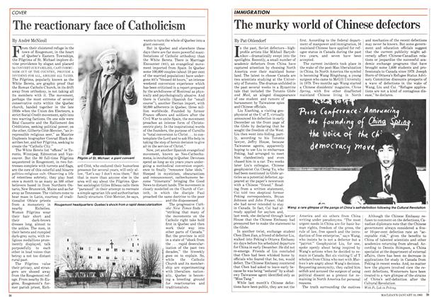 Article Preview: The reactionary face of Catholicism, January 1983 | Maclean's