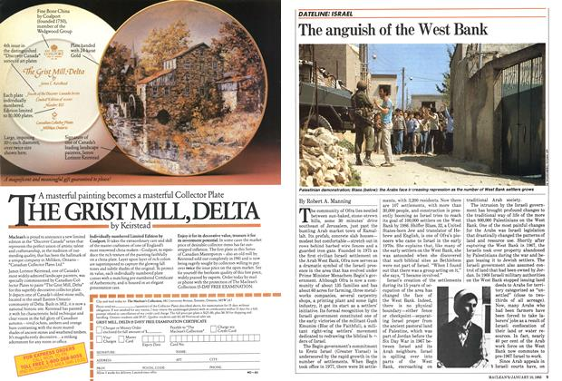 Article Preview: The anguish of the West Bank, January 1983 | Maclean's