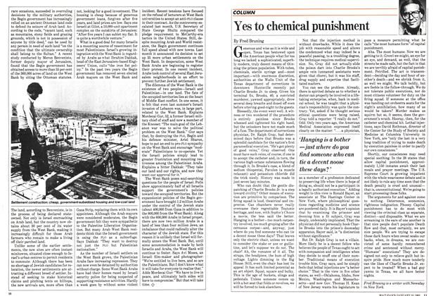 Article Preview: Yes to chemical punishment, January 1983 | Maclean's