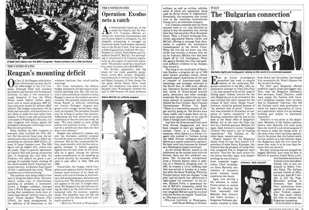 Article Preview: Reagan's mounting deficit, January 1983   Maclean's