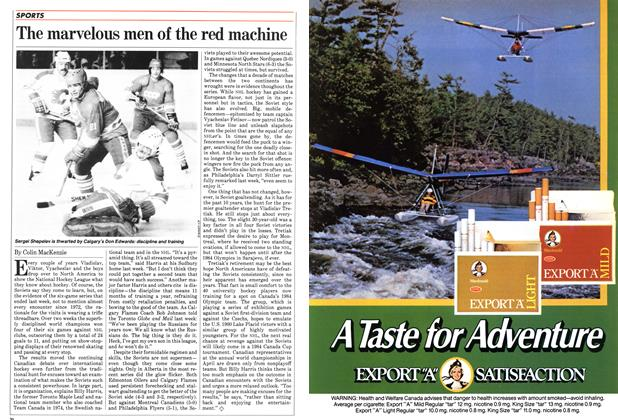 Article Preview: The marvelous men of the red machine, January 1983 | Maclean's