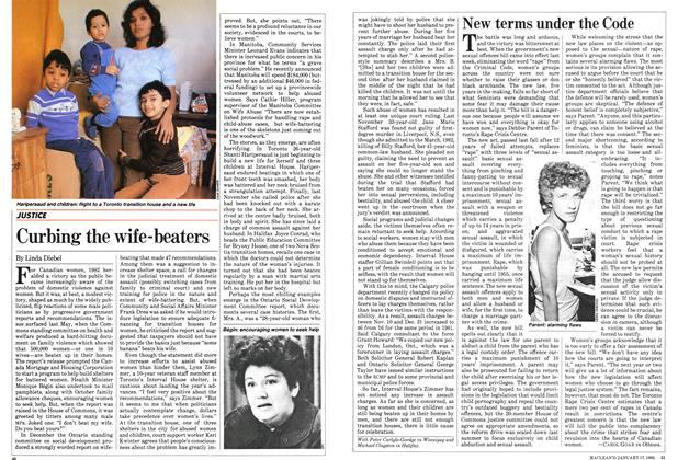 Article Preview: Curbing the wife-beaters, January 1983 | Maclean's
