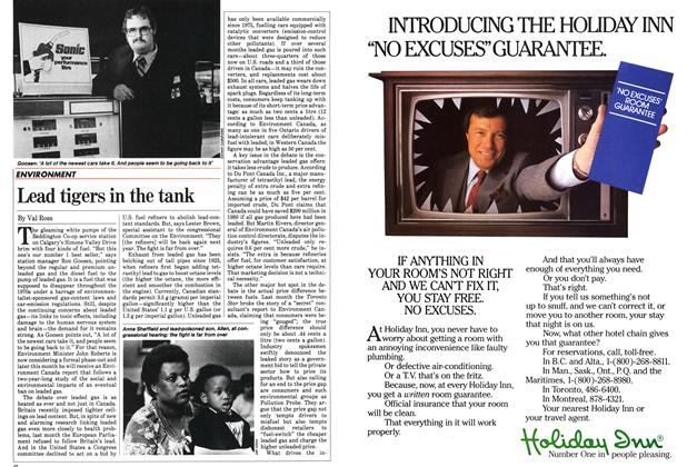 Article Preview: Lead tigers in the tank, January 1983 | Maclean's