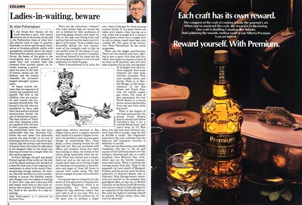 Article Preview: Ladies-in-waiting, beware, January 1983 | Maclean's