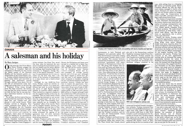 Article Preview: A salesman and his holiday, January 1983 | Maclean's