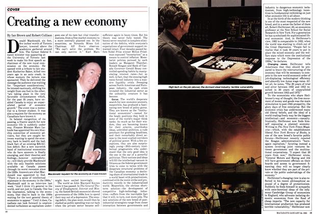 Article Preview: Creating a new economy, January 1983 | Maclean's