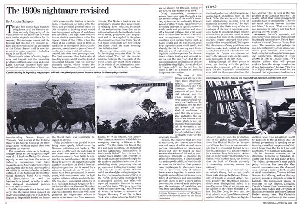 Article Preview: The 1930s nightmare revisited, January 1983 | Maclean's