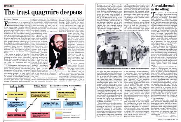 Article Preview: The trust quagmire deepens, January 1983 | Maclean's