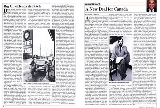 Article Preview: Big Oil extends its reach, January 1983 | Maclean's